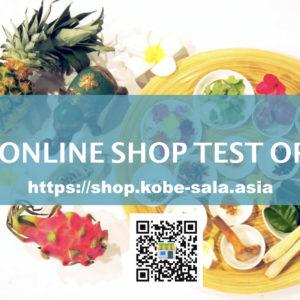 <News>SALA ONLINE SHOP TEST OPEN!