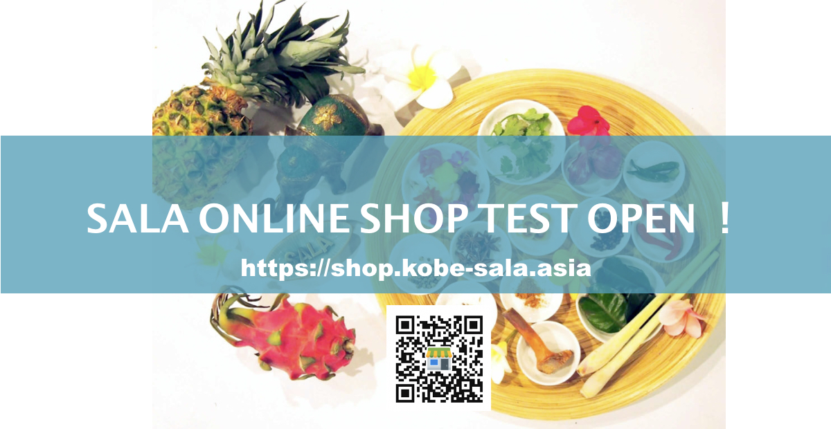 <News>SALA ONLINE SHOP TEST OPEN!