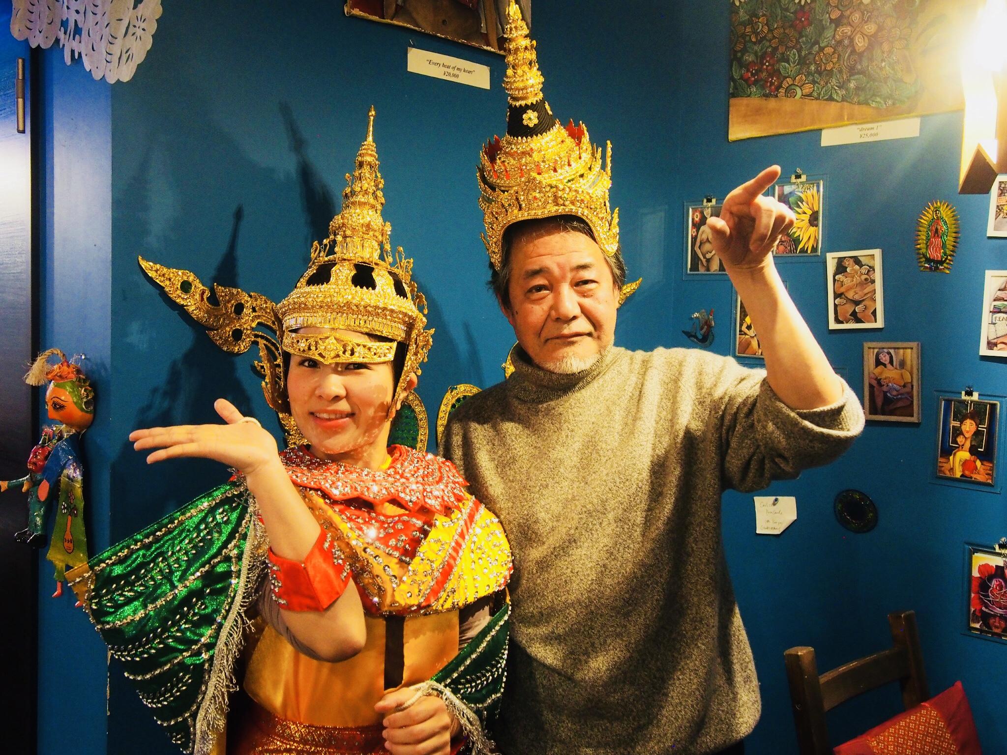 ついに!きんきらきんのタイの伝統舞踊民族衣装まで※SALAにあります。
