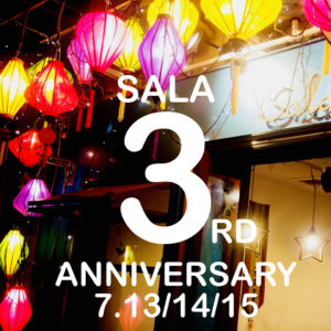\SALA3周年/SPECIAL3DAYS7月13日(土)14日(日)15日(祝月)