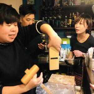 花生捲冰淇淋(フアシェンジュエン・ビンチーリン)再現への道のり6〜カンナで削る技編〜
