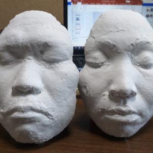 2月11日(祝火)Empowerment Through ART@SALA Cecilと自分の顔を象る立体作品をつくるワークショップ開催